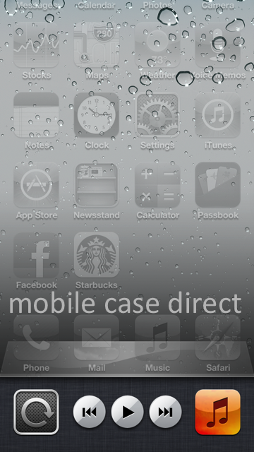 Screen Orientation Lock iPhone 5 Mobile Case Direct